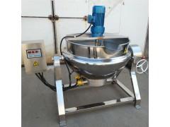 电加热可倾式蒸煮夹层锅 肉制品卤煮锅 厂家直销食品搅拌夹层锅