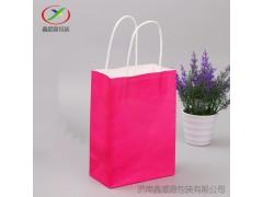定做批发牛皮纸袋礼品袋食品彩色手提纸袋白牛皮纸袋现货供应
