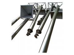 304不锈钢食品螺旋上料机厂家直销 无轴螺旋输送机工作原理高