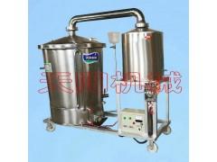 酿酒设备,蒸馏冷却组合煮酒机