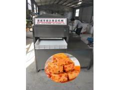 自动豆腐乳切块摆盘机