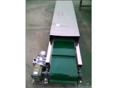 防滑绿色带送料机量身定制 日用化工输送机
