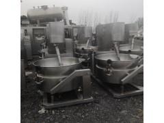 供应二手夹层锅 食品蒸煮设备 行星搅拌炒锅 二手食品机械设备