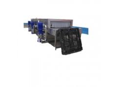 烘干式塑料托盘清洗机 高压托盘清洗风干线