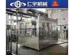 农夫山泉矿泉水灌装机 液体灌装旋盖机 全自动液体灌装机