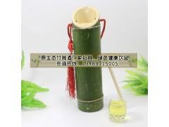 拜访客户商务礼品送原生态竹酒好