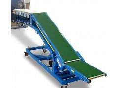 粮食装卸用传送带 爬坡式格挡皮带机供应商