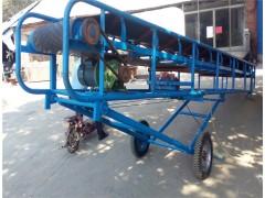 玉米棒爬坡输送机 移动式装车可升降皮带运输机厂家定制