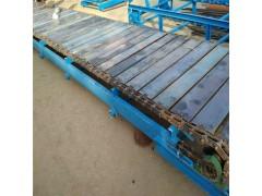 装卸大型货物链板式输送机  不规则物品链板输送机