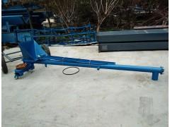 螺旋粮食提升送料机 108管径螺旋给料机圆管输送机供应