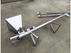 食品不锈钢自动上料机 小型蛟龙螺旋给料机蛟龙式提升机