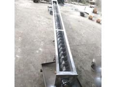 大管径管式螺旋输送机 u型水泥不锈钢污泥蛟龙螺旋提升机