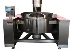 火锅底料自动炒料机 不锈钢大型辣椒酱搅拌炒锅 调味品机械