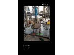 5吨不锈钢单层洗衣液搅拌罐天津天城机械厂家直销