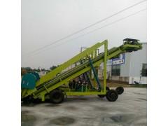 移动式青贮窖取料机  全自动青储取草机  取草机工作视频