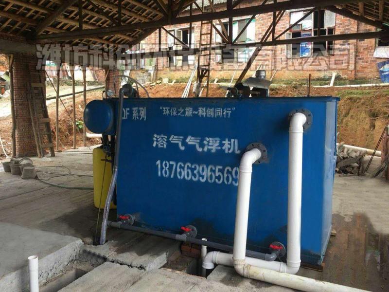 废水处理设备无残留
