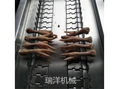鸡爪切割机 风闸切割机 鸡爪分割设备厂家热卖直销