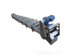 不锈钢刮板输送机定做热销 灰粉刮板机