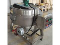 304不锈钢300L燃气加热夹层锅  蒸煮锅熬卤煮锅厂家