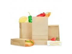 厂家直销聚乳酸PLA材料可降解淋膜纸袋方底通用食品包装袋