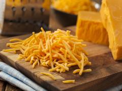 橙色桔色车达奶酪碎 红色芝士碎
