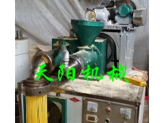 苞米馇条机 冷面机技术 玉米面条机