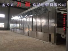 大型蒜片加工生产线烘干烘箱设备万福制造
