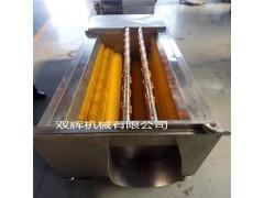 红薯紫薯去皮清洗机 不锈钢蔬果毛刷清洗机 辣菜头专用去皮洗泥