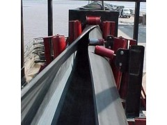 管状皮带机新型带式输送机 防尘