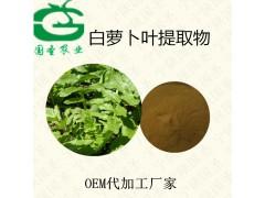 莱菔叶提取物 全水溶 厂家原料  品质保证 宁陕代加工