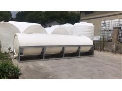 10吨卧式运输储罐/耐酸碱PE塑胶水箱