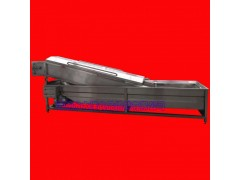 GQX型网带式山药专用高压喷淋机器