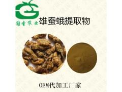 雄蚕蛾提取物 雄蚕蛾粉比例提取含运费 食品级原料