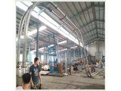 多用途沙子管链提升机厂家 颗粒管链输送机