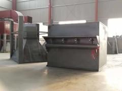 滤筒除尘器的结构特点,铁屑碎石粉尘处理设备
