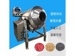 亚麻苏子滚筒炒锅 定制炒亚麻苏子的机器设备