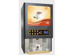 俊客供应智能速溶混合自助商用咖啡机
