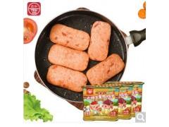 德和卡通版云腿午餐肉罐头早餐三明治猪肉火腿火锅