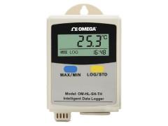 omega手持挂壁式单通道温湿度记录仪OM-HL-SH-TH