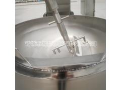 大型行星搅拌酱料炒锅,自动加热无需人工搅拌。