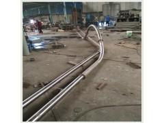 不锈钢盘片灰渣管链机批量加工 药粉输送机