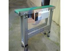 食品级铝型材输送机带防尘罩 流水线定制