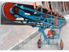 散装袋装物料传送机袋装物料 码头车站卸货用皮带输送机