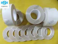 rubber胶带 按键贴合硅胶双面胶 PET薄膜AB双面胶带
