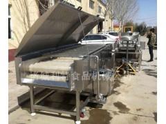 双层毛刷清洗机 土豆粗加工清洗设备 土豆清洗机效果