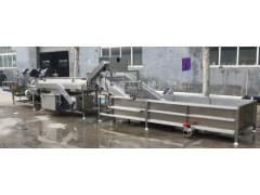 莲藕加工设备 莲藕毛刷清洗机 果蔬深加工生产线定制