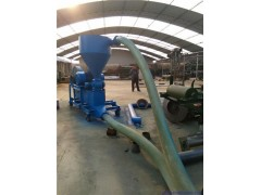 大豆谷物气力吸粮机 自吸式可移动风力输送机