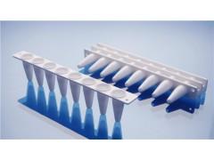 0.2ml PCR八联管配荧光定量PCR八联管光学平盖