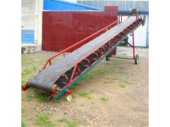 侧挡板物料输送机 伸缩式装卸传送机厂家