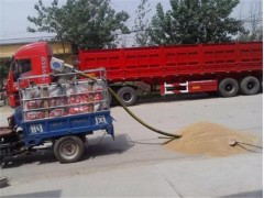 农场运粮用软管吸粮机 耐磨型小麦抽粮机型号全
